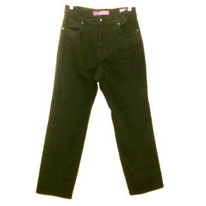 Gloria Vanderbilt black high rise waist jeans